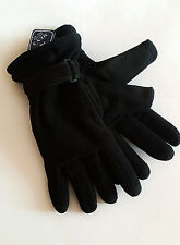 1 Pair's Men's Winter Glove Grip Fleece Thermal Insulation Work,Driving Gloves