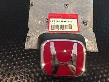 JDM GENUINE HONDA 05-06 RSX TYPE R DC5 FRONT H EMBLEM RED WITH BLACK HOUSING