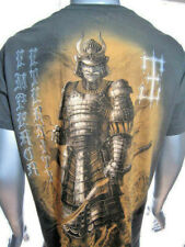 MMA Silver Samurai Supreme Shogun Japan-Affliction Tattoo Star Art Mens T-Shirt
