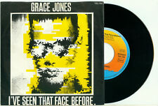 GRACE JONES I've Seen That Face Before 1981 HOLLAND PS EX+ VINYL SINGLE 7""