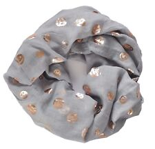 Grey Emoji Scarf Hearts Emoticons Gold Metallic Mother's Day Best Friend Gifts
