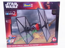 LOT 35074 Revell 06693 Star Wars First order special forces tie fighter NEU OVP