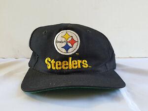 Vintage Pittsburgh Steelers Snapback Hat Sports Specialties Trucker Hat NFL Cap