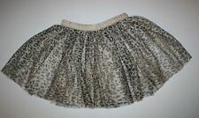 New Gymboree Leopard Print Tulle Tutu Ballet Skirt Size 8 Year NWT Catastic Line