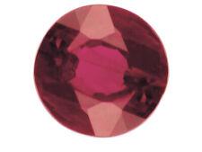 RUBINO TONDO BRILLANTE  1,2 CARATI Naturale pietra splendid stone BIRMANIA,;)