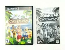 Sims 2 Castaway PS2 Playstation 2 Original Empty Case Art and Manual Only L2