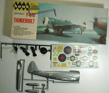 Hawk Republic P-47D Thunderbolt kit 500-130 1965 issue complete 1:48 Nib