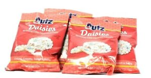 4 Bags UTZ 6 Oz Daisies Crispy Creamy Birthday Cake Covered Pretzels BB 10/23/21