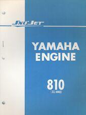 1971 YAMAHA SNO JET ENGINE 810 (SL  338 B) PARTS MANUAL (670)