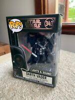Darth Vader Lights & Sound Electronic STAR WARS FUNKO POP VINYL NEW in BOX