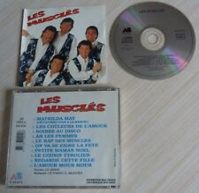 CD ALBUM LES MUSCLES 10 TITRES 1991 AB DISQUE CLUB DOROTHEE MATHILDA MAY