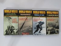 LOT of 4 World War II  Documentaries VHS Tapes