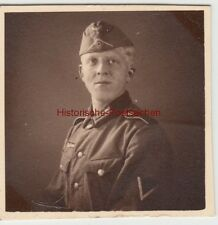 (F14423) Orig. Foto Porträt deutscher Soldat, 1940er