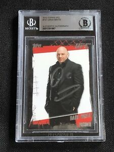DANA WHITE 2010 TOPPS UFC SIGNED AUTOGRAPHED CARD BECKETT BAS AUTHENTIC
