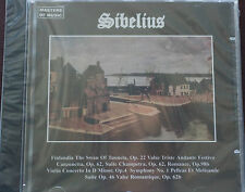 Masters of Music Sibelius Selections CD Mint Order 11 Trks New 62 mins Duet 1995