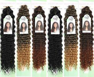 "Deep Twist Bulk hair 22"" inch for Braiding (by Smart Braid)"