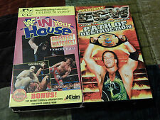 WWF - In Your House: Greatest Matches + ECW - Path of Destruction (VHS x 2)