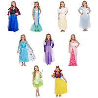 Niña Princesa Disfraz Disfraz Infantil Conjunto de Fiesta Edad 4-12 Carnaval