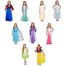 Ragazze Principessa Costume Festa Età Vestito 4-12 Giornata Mondiale Del Libro