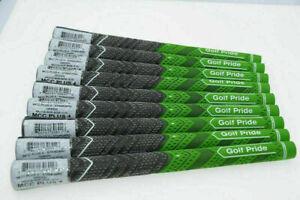 13x Golf Pride MCC PLUS 4 Golf Club Grips Standard Midsize Stripe FullSet