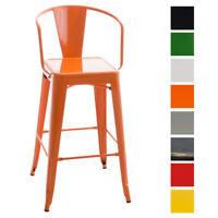 Tabouret VASBRO chaise industriel fauteuil cuisine repose pied atelier dossier