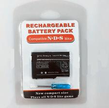 Rechargeable Battery 3.7V 2000 mAh+ Screwdriver For Nintendo DS Lite NDSL