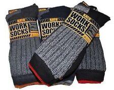 Kato Work Socks Size 6-11 Black Grey TD170 CC 09