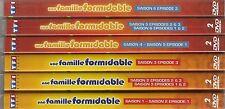 "lot dvd ""UNE FAMILLE FORMIDABLE - EPISODES 1 A 18""   NEUF SANS BLISTER"