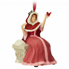 Disney Winter Belle Beauty & The Beast Tree Decoration Singing 'Something There'