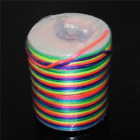 2mm Colorful Nylon Thread Cord For Bracelet Necklace Jewelry Making 5 Metres