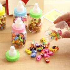 Sale 25pcs Mini Cute Cartoon Number Rubber Pencil Eraser For Children Stationery