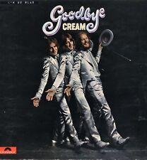 """CREAM """"GOODBYE"""" ORIG STEREO UK 1969 VG+/EX"""