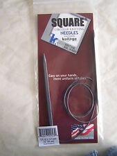 """Kollage Square Circular Knitting Needles 32"""" Original"""