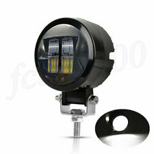 "Round 3"" 20W LED Light Pod Offroad ATV Car Boat Work Spot Fog Light Universal 1x"