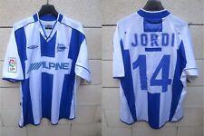 Maillot DEPORTIVO ALAVES 2002 JORDI CRUYFF vintage UMBRO camiseta shirt jersey L