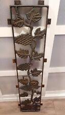 Vintage Cast Iron Decorative Panel/Grate Grapevine Design