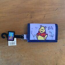 Disney Winnie The Pooh Trifold Wallet Kids Purple Bear Childrens