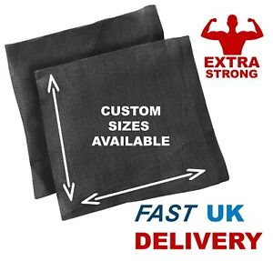 Trampoline Repair Patches 1ft x 1ft or CUSTOM SIZE / SHAPES High Strength UK