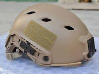 AIRSOFT TAN SAND DE SWAT OPS BJ TACTICAL HELMET JUMP UK FAST DELIVERY RAIL