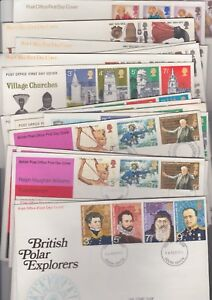 ** FIRST DAY COVERS 1972 MULTIPLE LISTINGS BUY 4 FOR FREE P&P **