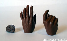 "1/6 hands from Mace Windu Star Wars by Sideshow for 12"" figure jedi"