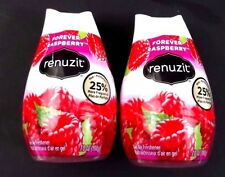 Renuzit Forever Raspberry Pak Of Two 7 Oz Adjustable Air Freshener New
