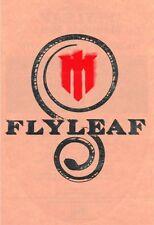 FLYLEAF Ltd Ed Discontinued RARE Sticker +FREE Rock Stickers! SKILLET FIREFLIGHT