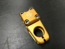 "Snap BMX Products Series II 1-1/8"" Pro Stem - 53mm Gold"