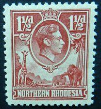 Rhodesia 1938 1½d  SG 29 Mint hinged cat £50