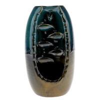 Backflow Incense Burner  Ceramic Cone Incense Holder Craftwork Figurine -L