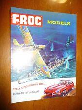 FROG MODELS SCALE CONSTRUCTION KIT ANNI '70 AEREI NAVI MACCHINE BELLO