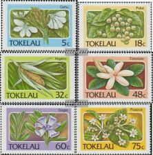 Tokelau 136-141 (complete issue) unmounted mint / never hinged 1987 Plants