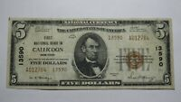$5 1929 Callicoon New York NY National Currency Bank Note Bill Ch. #13590 VF++