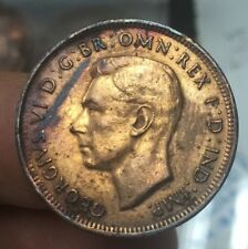 1940 Australia half Penny coin-very nice details